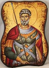 Greek Orthodox Icon of St. Menas