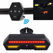 Bicycle Bike Rear Lights Rechargeable USB Turn Signal Tail Lamp Led Headlight UK