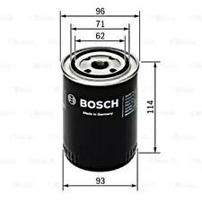 BOSCH Oil Filter Fits OPEL Omega A Frontera 5 Carlton 2.2-2.3 1986-1998 93156575