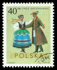 Scott # 1685 - 1969 - ' Costumes from Krczonow, Lublin ', Regional Costumes