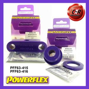 PFF63-415 / PFF63-416 Powerflex For MG ZR (01-05) Gear Linkage Mounts Front & Rr