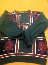 Clubfellow Men'S Long Sleeve Crewneck Pullover 100% Cotton Sweater Size Xlt