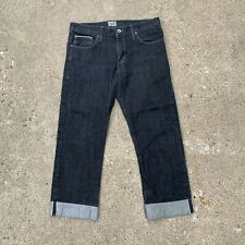 Naked And Famous Mens Black Selvedge Jeans Size 33