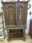 1920s Sparks-Withington Radio Cabinet Vintage Ornate Wood Details PICK UP ONLY
