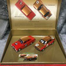 Scalextric 1:32 Ford Escort Mk1 Lotus Cortina Mk1 Alan Mann Racing Set C2981A