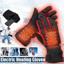 Electric Heating Gloves Hands Warm Winter Warmer Rechargeable Battery Waterproof