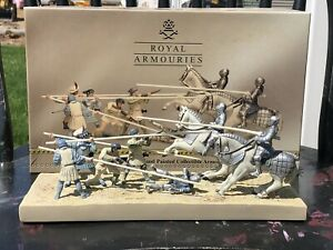 Britains 40291 Royal Armouries Battle Of Pavia 1525 Diorama With Original Box