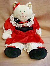 "Handmade 18"" Cat Doll - Ltd Ed 598 /1000 - Elder Beerman - Top Quality"