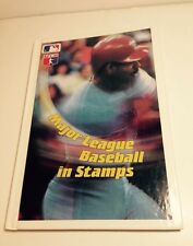MAJOR LEAGUE BASEBALL 1990 Philatelic Stamp Collection & Book 100% Complete MLB