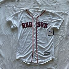 Boston Red Sox Youth Medium Home White  Game  Jersey.