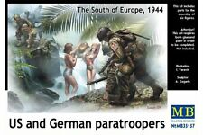 MasterBox MB35157 1/35 The South of Europe, 1944 US and German paratroopers