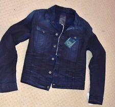 GStar Women Raw Slim Tailor Denim Jacket Naval Blue Comfort Scapoliet Twill Medm