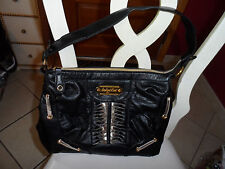 Baby Phat black with gold accent handbag