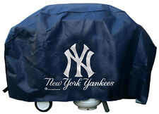"New York Yankees Vinyl Grill Cover [NEW] MLB 68"" Wide Grilling Barbeque CDG"