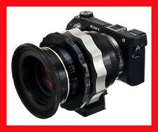 @ PRO Adapter SONY NEX E Mount A7 A7S -  LOMO OCT19 Lens Anamorphic w/TRIPOD @