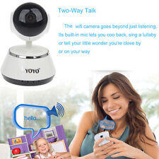 HD Wifi Camera 2 Way Baby Monitor CCTV Video PT Night Intercom IR Sound System