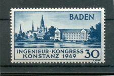 Frz.Zone-Baden 46I LUXUS**POSTFRISCH 26EUR (70951