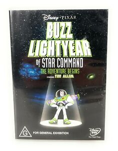 Buzz Lightyear of Star Command: The Adventure (DVD, 2000) Disney Pixar R4
