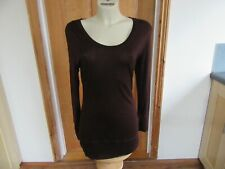 LADIES MINT VELVET TOP SIZE 14