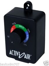 Active Air Duct Fan Speed Adjuster Controller 350w MAX SAVE $$ W/ BAY HYDRO