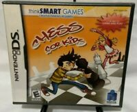 thinkSMART Chess for Kids Nintendo DS Complete  E-Everyone
