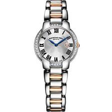 Raymond Weil Jasmine 5229-s5s-01659 Ladies Diamonds 29mm Date Quartz Watch