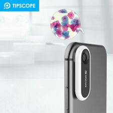 TIPSCOPE Universal Mobile Phone Microscope 20-400X Camera Lens Stick with Slice