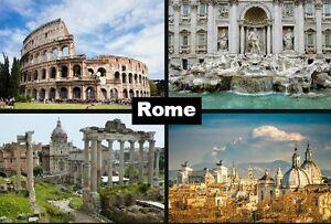 ROME Italy Souvenir  Fridge Magnet