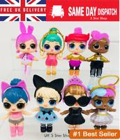 8Pcs LOL Dolls L.O.L Surprise Ball Lil Sisters Pets Toys Girls Set Figure UK
