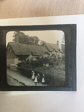 Anne Hathaway Cottage 1900's Picture Wife Of Shakespeare Stratford On Avon Rare