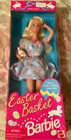 Easter Basket Barbie Doll #14613 New Never Removed from Box 1995 Mattel, Inc. 3+