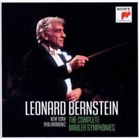 LEONARD BERNSTEIN - THE COMPLETE MAHLER SYMPHONIES 12 CD NEU