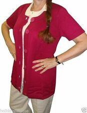 Short Sleeve Button Jumper & Cardigan Plus Size for Women