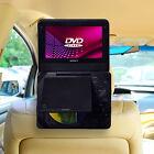 TFY Car Headrest Mount Back Seat Holder Adjustable Strap for DVD Player 9 Inch
