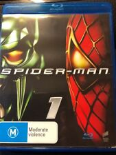 SPIDER-MAN 1- BLU-RAY (2014) Tobey Maguire Willem Dafoe - VG - FREE POST
