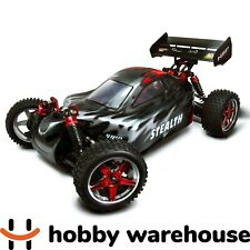 HSP 94106-88801 Stealth 2.4GHz 2SP Nitro 4WD Off Road 1/10 Scale RC Buggy