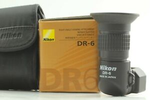 [Exc+5 Boxed] Nikon DR-6 Right Angle Viewfinder DR6 1x / 2x For DSLR Japan #272