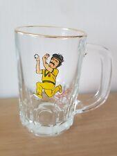 DENNIS LILLEE ** VINTAGE ** BEER GLASS