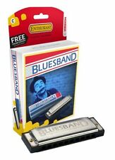 Hohner, 1501BX-C, Bluesband, 1501 Beginner Blues Harmonica- KEY OF C, mouthorgan