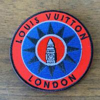 BRAND NEW Louis Vuitton Iron Patch Lot Paris Globe Explorer Parka #1