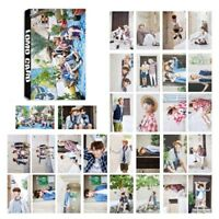 30pcs/set Kpop  Bangtan Boys SUMMER PACKAGE Photo Cards Poster Lomo Card New