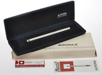 "Aurora Hastil sterling silver 925 ""godron"" fountain pen new old stock"