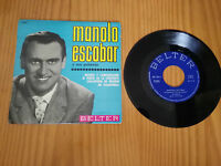 """MANOLO ESCOBAR Y SUS GUITARRAS SINGLE 7"""" VINYL SPANISH EDITION 1972 MEGA RARE!!!"""