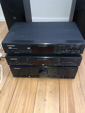 Grundig Fine Arts Komplett Anlage Stereoanlage Cd21, T22, V21