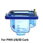 Plastic Carburetor Float Bowl Clear Oil Cup Protect Case For PWK I/II/III Carb