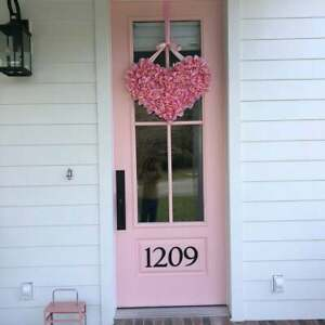 5 inch Traditional House Numbers or Letters; color choices