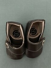 Livie & Luca BrownSoft Leather Boots Baby Shoes 6-12 Month Soft Soles