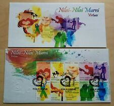 2011 Malaysia Nilai-Nilai Murni Virtues 10v Stamp Original Print FDC (KL Cachet)