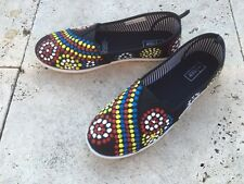 aboriginal art shoes