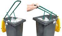 Mülltonnen-Presse Müllpresse Papierpresse Abfallpresse Müllverdichter Dunkelgrün